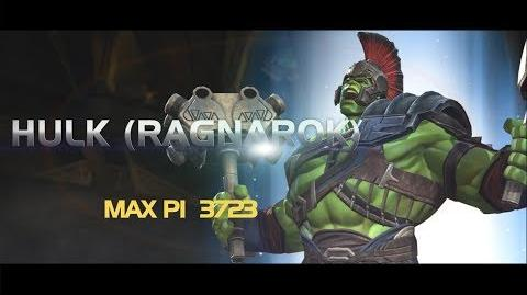 HULK (RAGNAROK) Special Moves Marvel Contest of Champions