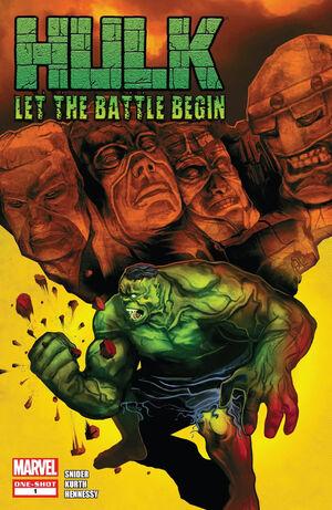 Hulk Let the Battle Begin Vol 1 1