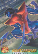 Kurt Wagner (Earth-616) from X-Men (Trading Cards) 1996 Set 0001