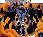Machine Men (Earth-TRN583) from Spider-Man Unlimited Vol 2 2 0001
