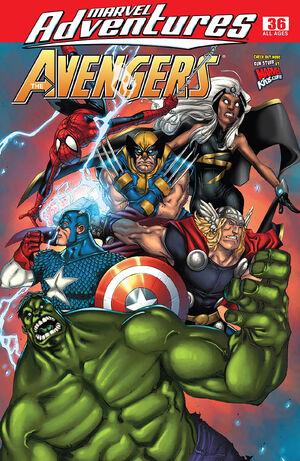 Marvel Adventures The Avengers Vol 1 36