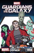 Marvel Universe Guardians of the Galaxy Infinite Comic Vol 1 4