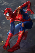 Peter Parker (Earth-TRN461) from Spider-Man Unlimited (video game) 099