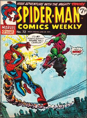 Spider-Man Comics Weekly Vol 1 72