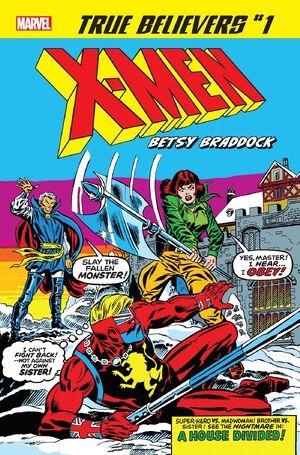 True Believers X-Men - Betsy Braddock Vol 1 1