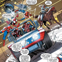Web Warriors (Earth-13) from Amazing Spider-Man Vol 3 12 001