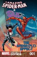 Amazing Spider-Man & Silk Spiderfly Effect Infinite Comic Vol 1 1