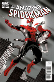 Amazing Spider-Man Vol 1 646 Vampire Variant