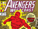 Avengers West Coast Vol 2 50