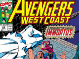 Avengers West Coast Vol 2 62