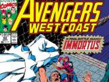 Avengers West Coast Vol 2 62