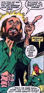 Bob DeNatale, Vision (Earth-616) from Peter Parker, The Spectacular Spider-Man Vol 1 86