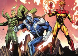 Brotherhood of Evil Mutants (Earth-616) from X-Men Gold Vol 2 21 Mora Variant cover