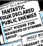 Daily Globe from Fantastic Four Vol 1 2 0001