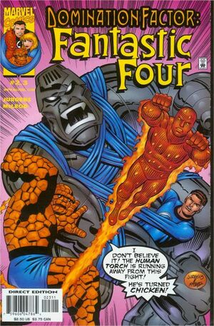Domination Factor Fantastic Four Vol 1 2.3
