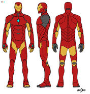 Iron Man Armor Model 51 concept art 001