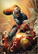 Iron Man Captain America Casualties of War Vol 1 1 Cover B Textless