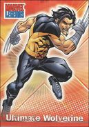 James Howlett (Earth-1610) from Marvel Legends (Trading Cards) 0003