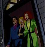 John Grey (Earth-92131), Elaine Grey (Earth-92131), and Sara Grey (Earth-92131) from X-Men The Animated Series Season 3 13 001