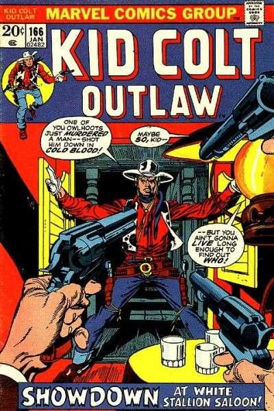 Kid Colt Outlaw Vol 1 166