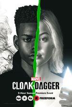 Marvel's Cloak & Dagger poster 006