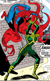 Medusalith Amaquelin (Earth-616) versus Spider-Man from Amazing Spider-Man Vol 1 62