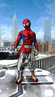 Pavitr Prabhakar (Earth-TRN531) from Spider-Man Unlimited (video game)