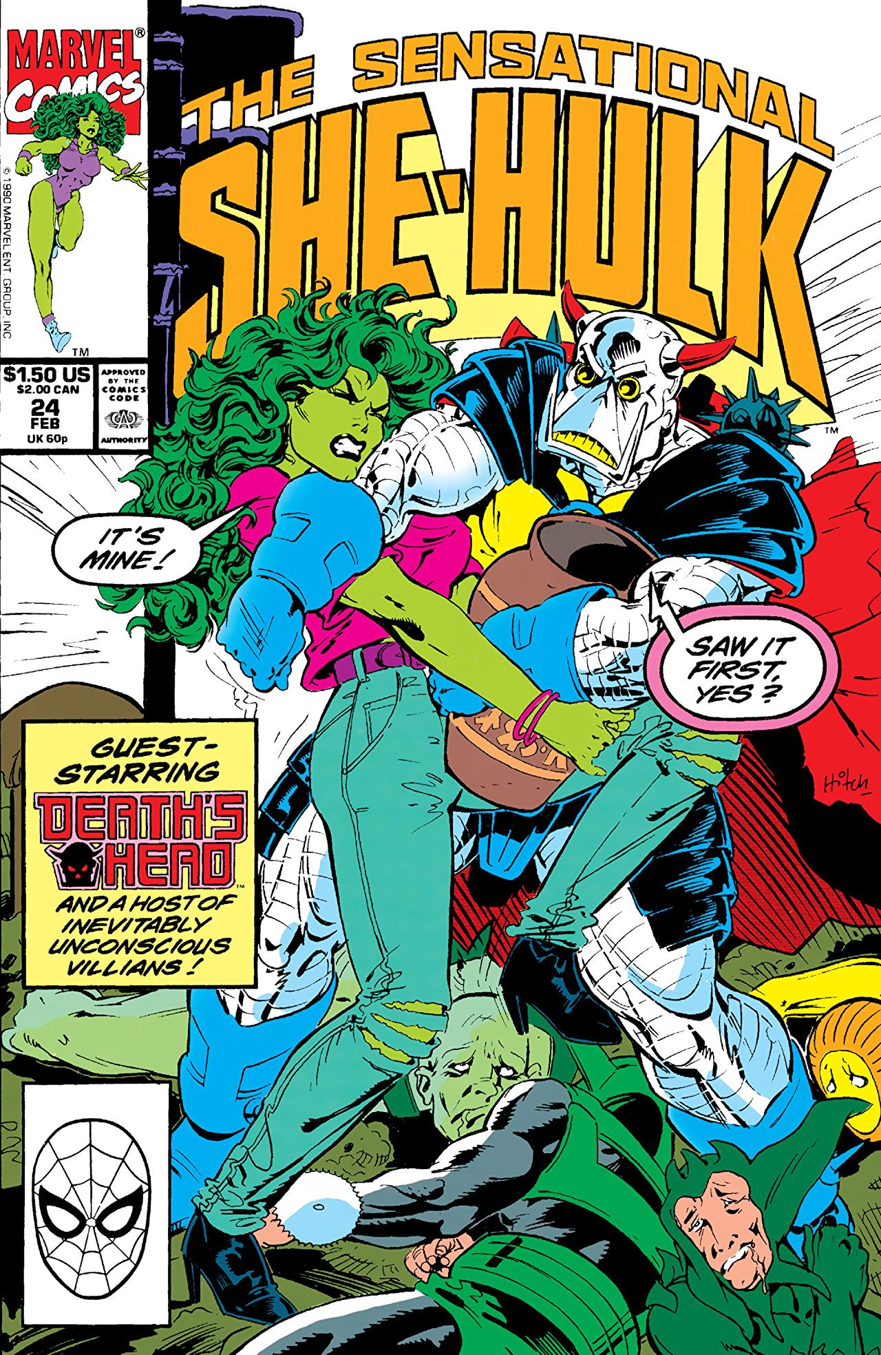 Sensational She-Hulk Vol 1 24