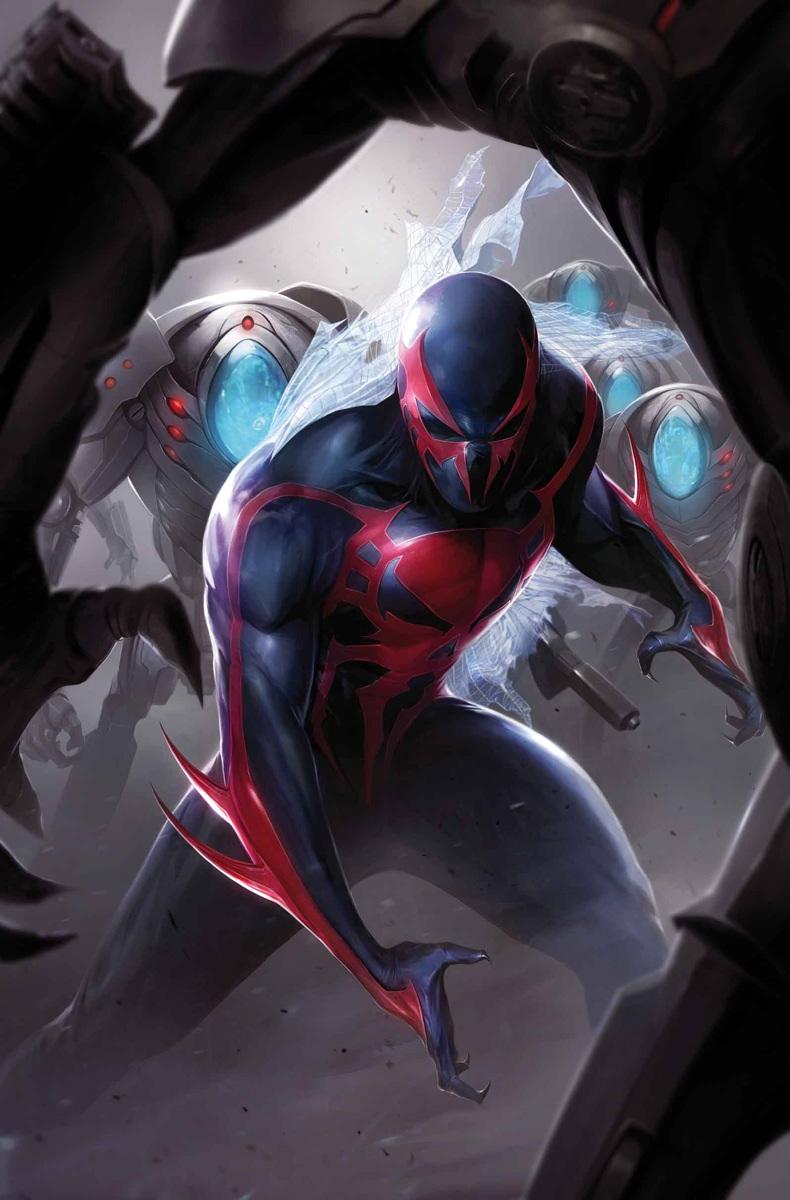 Spider man 2099 vol 2 3 marvel database fandom powered - Images spiderman ...