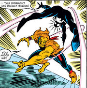 Thomas Fireheart and Peter Parker (Earth-616) from Amazing Spider-Man Vol 1 257 003