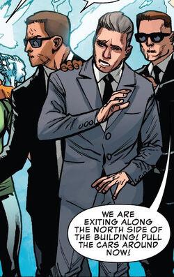 United States Secret Service (Earth-616) from Uncanny X-Men Vol 5 1 0001
