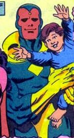 Vision (Earth-92077) from West Coast Avengers Annual Vol 2 7 0001