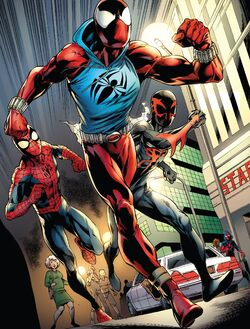 Web Spinners (Earth-616) from Ben Reilly Scarlet Spider Vol 1 3 001