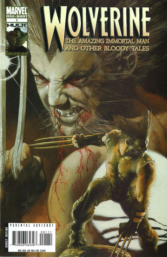 768a4a30312 Wolverine: The Amazing Immortal Man & Other Bloody Tales Vol 1 1 ...