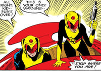 Arbitrators (Earth-87050) from New Mutants Vol 1 49 0001