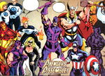 Avengers (Earth-110) from Big Town Vol 1 1 002