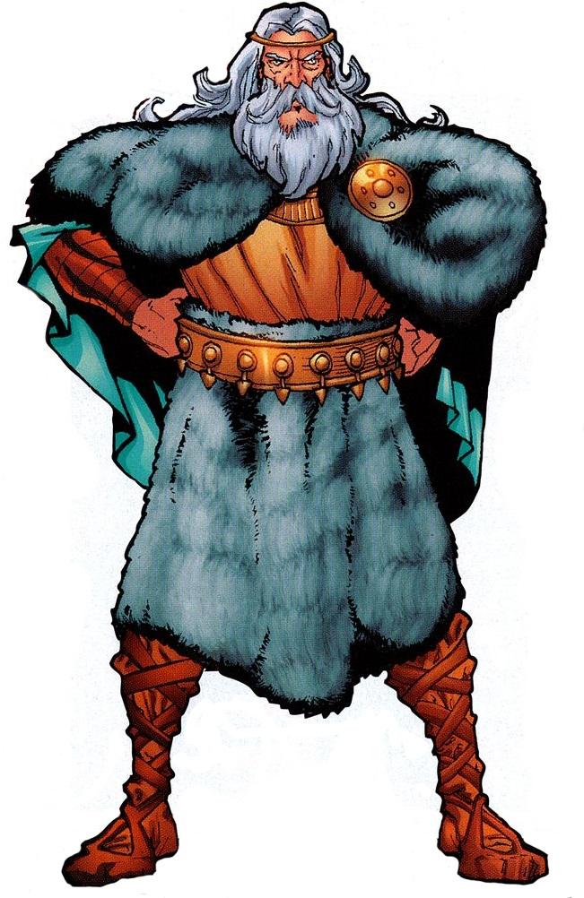 Mitologi Viking : Raja Dewa Nordik (Odin)