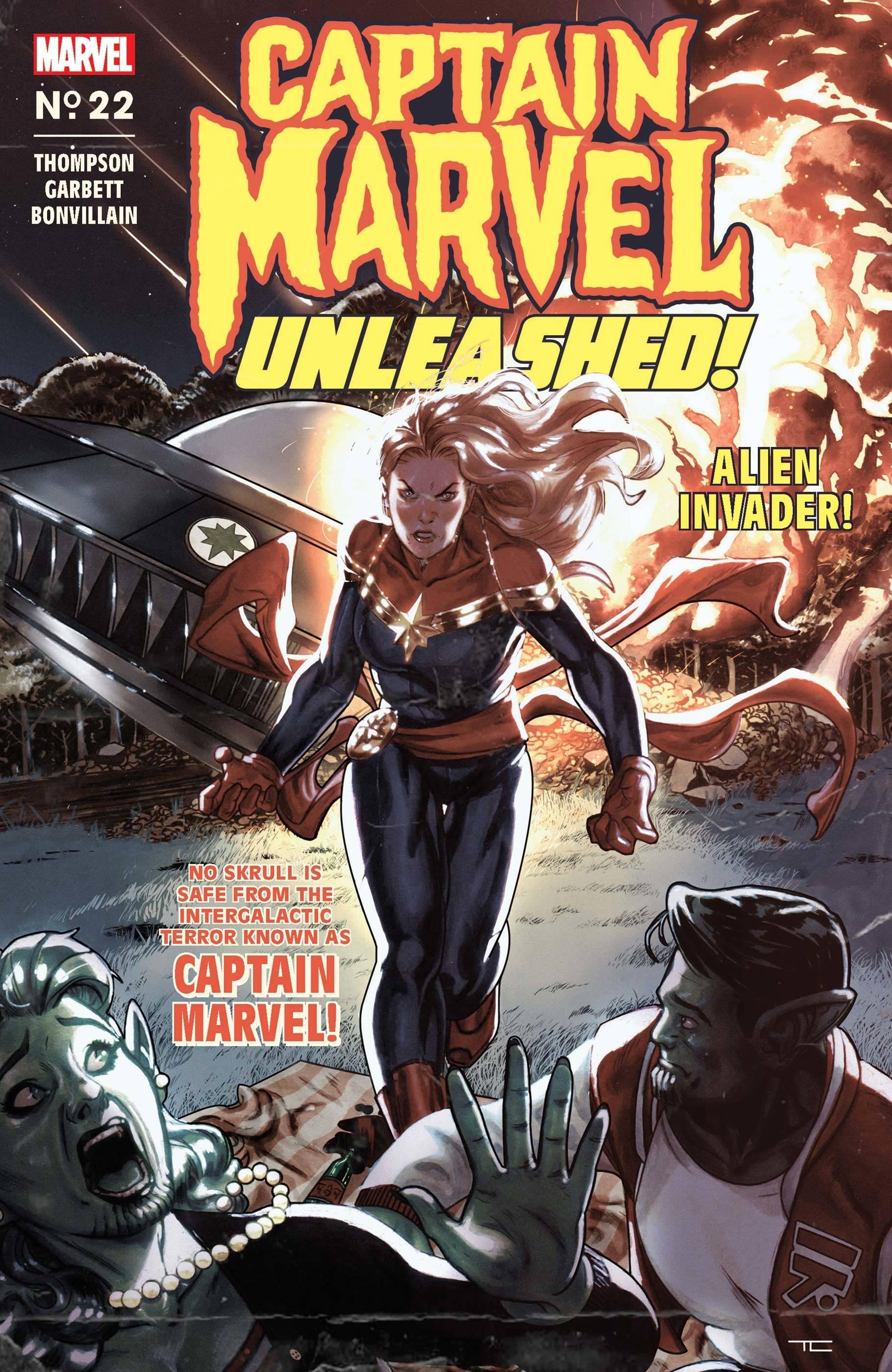 Captain Marvel Vol 10 22 Captain Marvel Unleashed Horror Variant.jpg