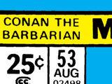 Conan the Barbarian Vol 1 53