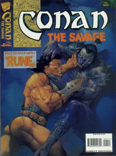 Conan the Savage Vol 1 4