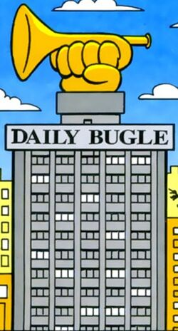 Daily Bugle (Earth-99062) Mini Marvels Ultimate Collection Vol 1 1