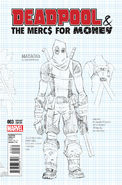 Deadpool & the Mercs for Money Vol 1 3 Design Variant