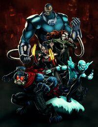 Horsemen of Apocalypse (Earth-12131) from Marvel Avengers Alliance 001