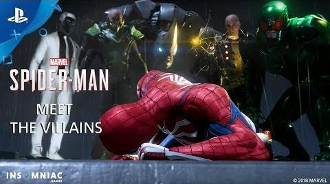 Inside Marvel's Spider-Man - Meet the Villains PS4