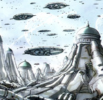 Kree-Lar (Planet) from Inhumans Vol 3 1 001