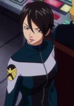 Maria Hill (Earth-14042) from Marvel Disk Wars The Avengers Season 1 2 001