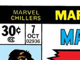 Marvel Chillers Vol 1 7