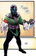 Nathaniel Richards (Kang) (Earth-6311) and the Apocalypse Twins (Earth-616) from Uncanny Avengers Vol 1 5 001