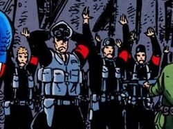 National Socialist German Workers Party (Earth-3839) from Batman and Captain America Vol 1 1 001