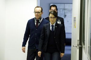 Phillip Coulson (Earth-199999) and Melinda May (Earth-199999) from Marvel's Agents of S.H.I.E.L.D. Season 1 21 002